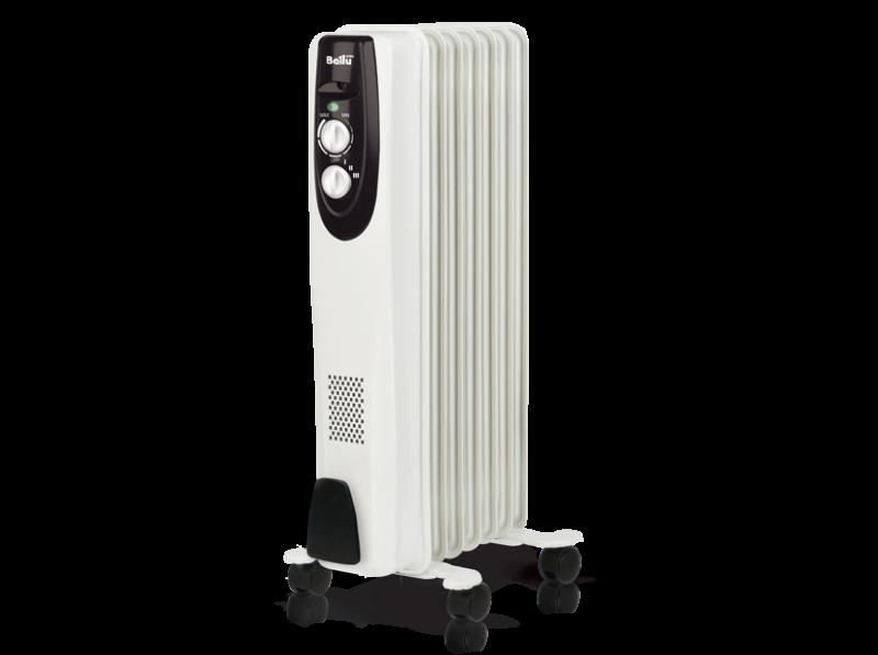 Масляный радиатор BALLU BOH/CB-07W 1500, Масляные радиаторы