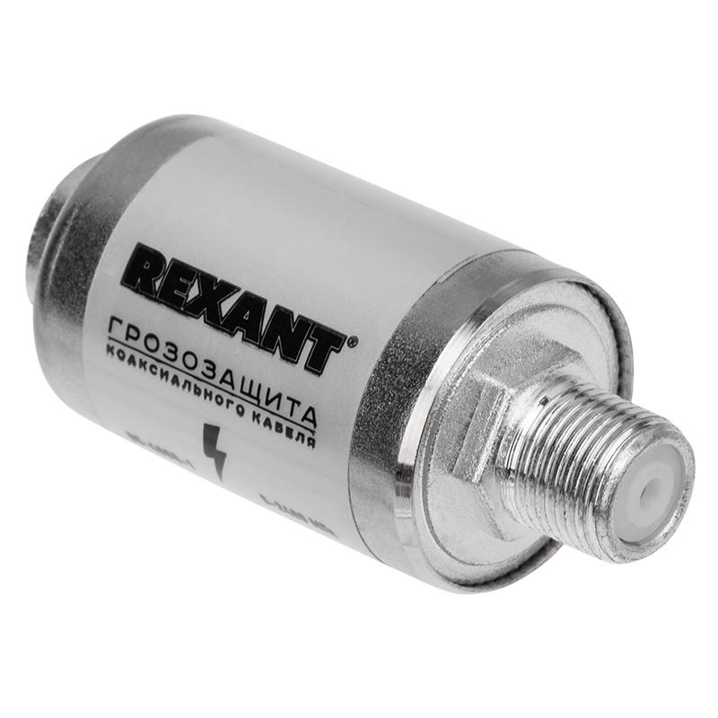 Грозозащита на F-разъем 5-2400 МГц REXANT, Штекеры телефонные и телевизионные