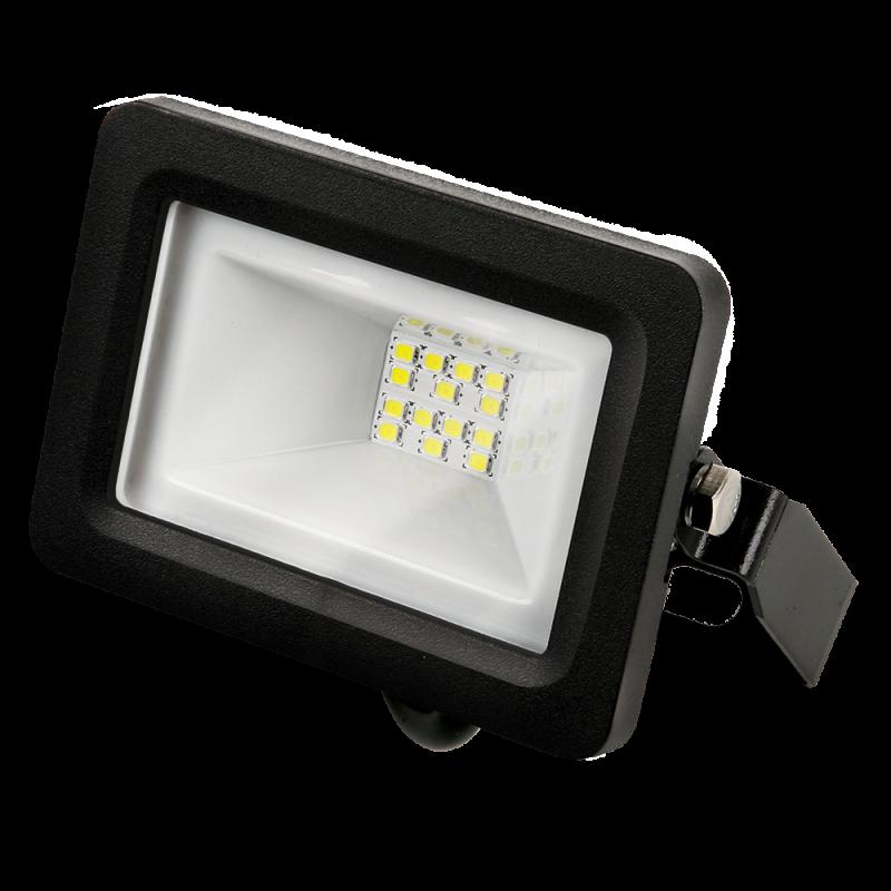 Прожектор светодиодный черный GAUSS 10 Вт, прожекторы