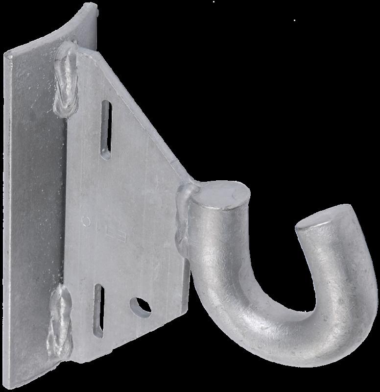 Крюк КМ-1800 (HEL-5661, SOT29.1) IEK, Арматура к проводу СИП