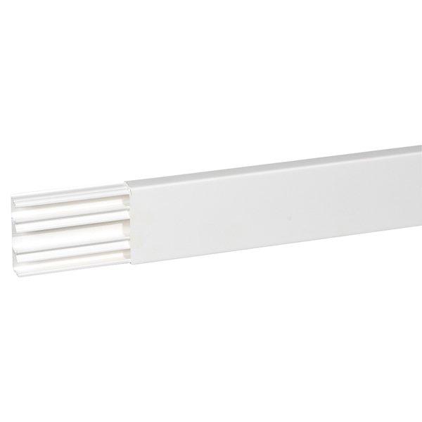 Мини-плинтус Legrand 60х20х2000 две перегородки белый, Кабель-канал DLPlus Legrand