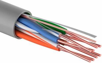 Кабель связи витая пара UTP кат.5E 4х2х0,5 CU PROconnect, кабель витая пара