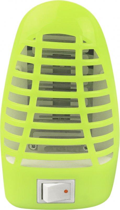 Ночник светодиодный москитный NLM 01-MG зеленый с выключателем 230В IN HOME, Ночники светодиодные