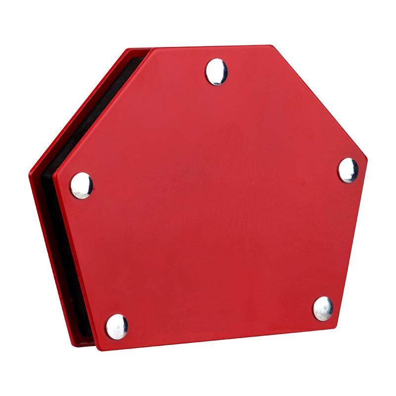 Магнитный угольник-держатель для сварки на 6 углов, усилие 22,6 кг REXANT, Ручной инструмент