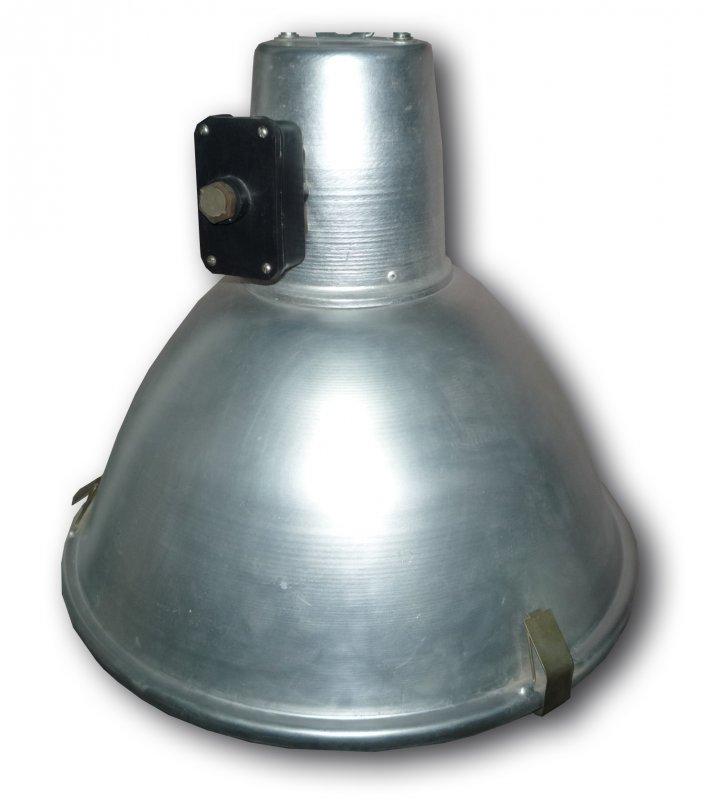 Светильник РСП 12-250-014 со стеклом и без дросселя, Промышленные светильники