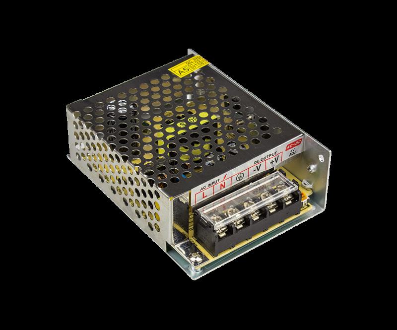 Адаптер для светодиодной ленты LS-AA-50 50Вт 12В алюминий IN HOME, Комплектующие к светодиодной ленте