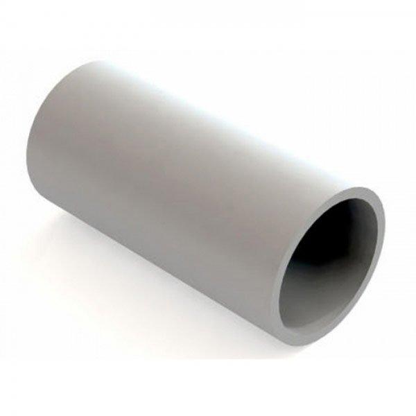 Патрубок-муфта 40 мм для труб ПВХ IP40 серый