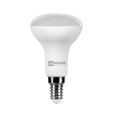 Лампа светодиодная LED-R50-VC 6Вт 230В Е14 6500К 525Лм IN HOME, Лампа LED-R