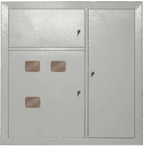 Корпус металлический ЩЭ-3-6 36 УХЛ3 IP31, Щиты накладные металлические
