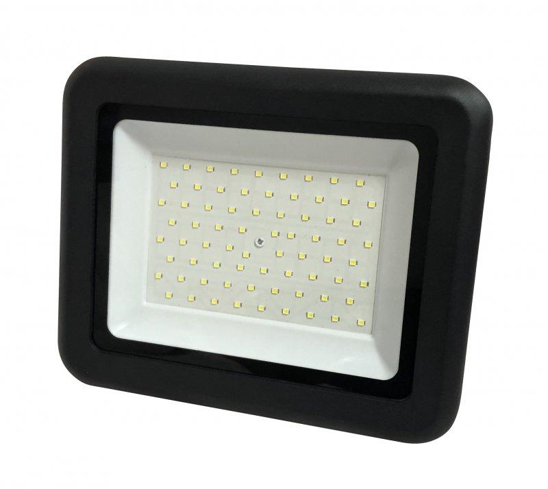Прожектор светодиодный черный СДО-07 100 Вт NEOX, прожекторы