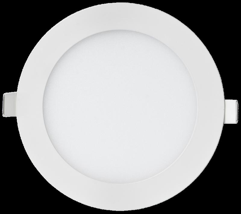 Панель светодиодная круглая RLP-eco 14Вт 230В 4000К 980Лм 170/155мм белая IP40 LLT, Точечные светодиодные панели