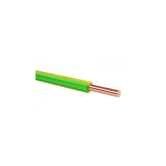 Провод ПВ-1 (ПуВ) 25 желто-зеленый, Провод ПВ-1
