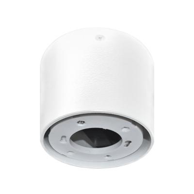 Светильник накладной ЦИЛИНДР ПОТОЛОЧНЫЙ-GX53-П WT пластик под лампу GX53 230B белый IP20 IN HOME, Потолочные светильники
