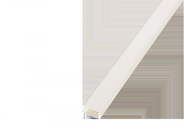 Кабель-канал SPL 20х12,5х2000мм белый, кабель-канал spl
