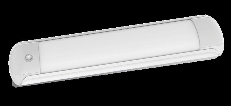 Светильник светодиодный SPO-107Д 36Вт 230В 6500К 2900Лм 1200мм с датчиком движения IP40, Линейные светильники