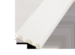 Кабель-канал SPL 75x20х2000мм с перегородками белый, кабель-канал spl