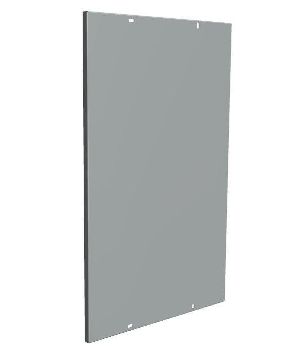 Монтажная панель 1мм для ЩРНМ-4 EKF Basic, Корпуса ВРУ и аксессуары