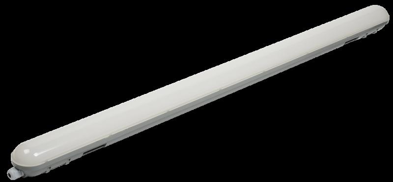 Светильник ДСП 1306 36Вт 4500К IP65 1200мм серый пластик IEK, Промышленные светильники