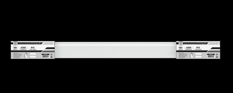 Светильник светодиодный герметичный ССП-155-PRO 18Вт 230В 6500К 1500Лм 600мм IP65 LLT
