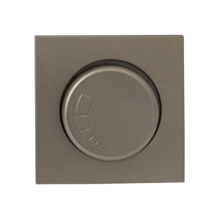 Валенсия лицевая панель светорегулятора 600W 220В кашемир EKF PROxima, Диммеры