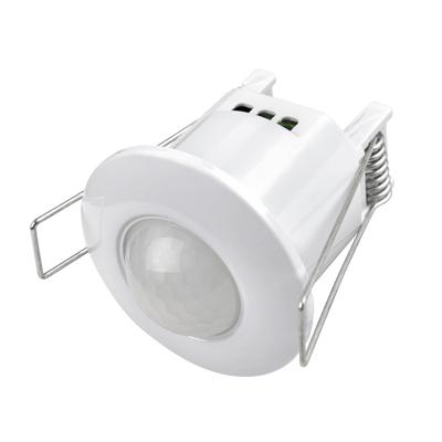 Датчик движения инфракрасный ДД-007-W 800Вт 360 гр.6м IP44 белый LLT, Датчики