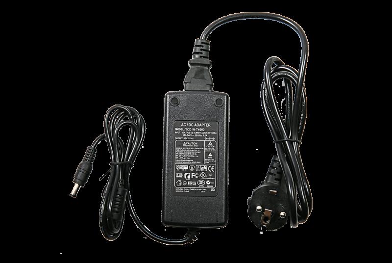 Адаптер для светодиодной ленты LS-APT-48 48Вт 12В пластик IN HOME, Комплектующие к светодиодной ленте