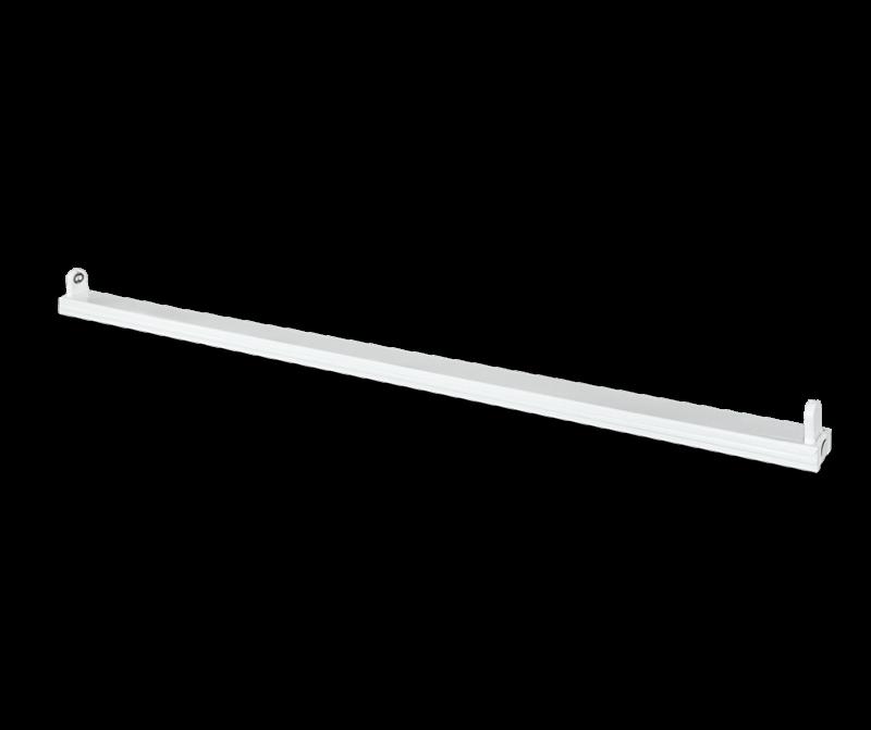 Светильник под светодиодную лампу SPO-101-1 1хLED-T8-1200 G13 230В IP20 1200 мм IN HOME, Линейные светильники