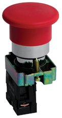 Кнопка BC42 грибок красная NC EKF PROxima, Светосигнальная арматура
