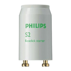 Стартер S2 4-22W 110-240V PHILIPS, Пускорегулирующие устройства