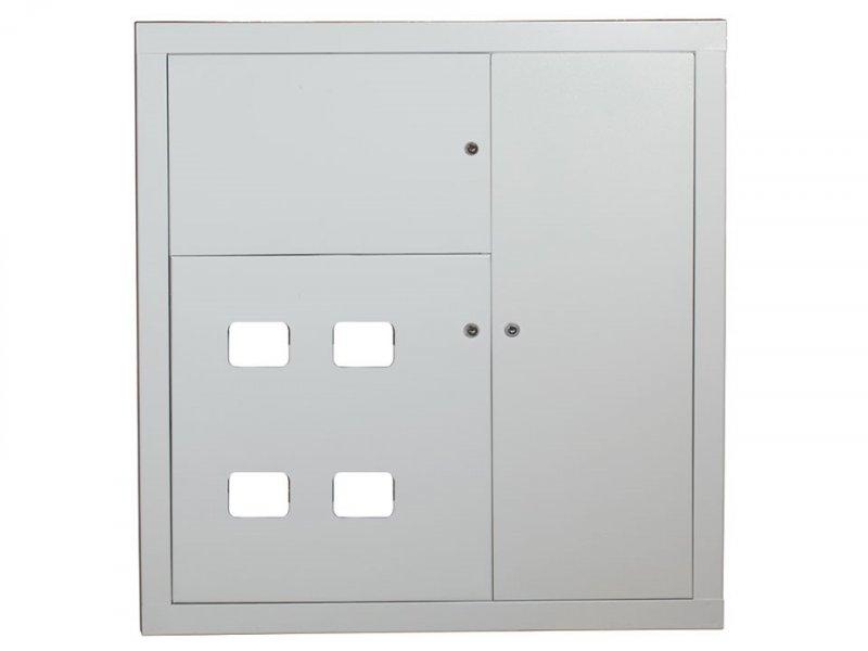 Щит этажный ЩЭ 4 кв. (1010х950х140) IP31 EKF Proxima, Щиты встраиваемые металлические