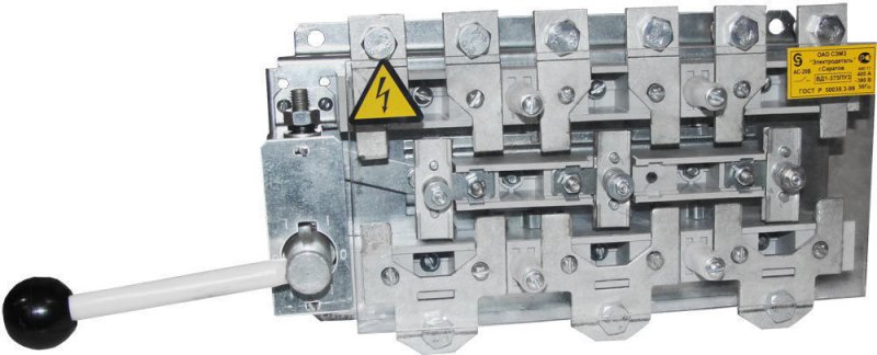 Рубильник ВД-1-375 400А перекидной, Рубильники и разъединители