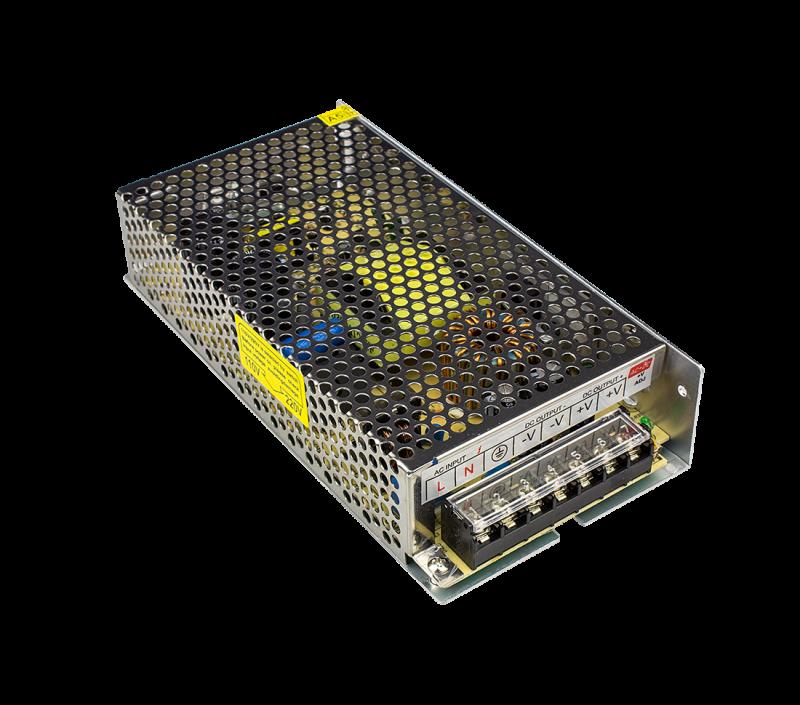 Адаптер для светодиодной ленты LS-AA-200 200Вт 12В алюминий IN HOME, Комплектующие к светодиодной ленте