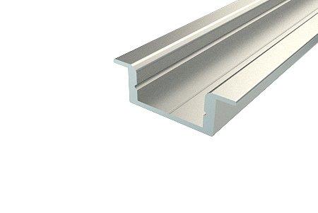Профиль врезной алюминиевый 2207-2 2 м REXANT, Комплектующие к светодиодной ленте