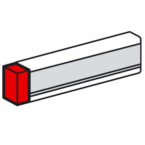 Заглушка Legrand 85х50 для кабель-канала METRA белая