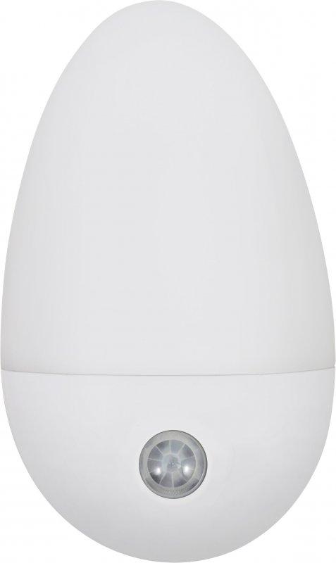 Ночник светодиодный NLE 06-LW-DS белый с датчиков освещения 230В IN HOME, Ночники светодиодные