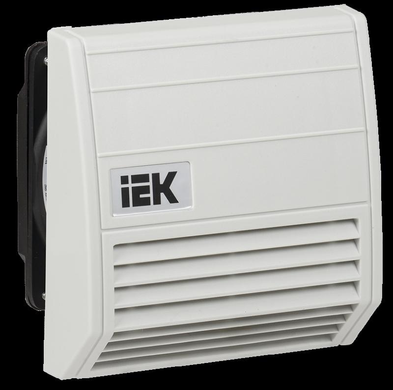 Вентилятор IEK с фильтром 21 куб.м./час IP55
