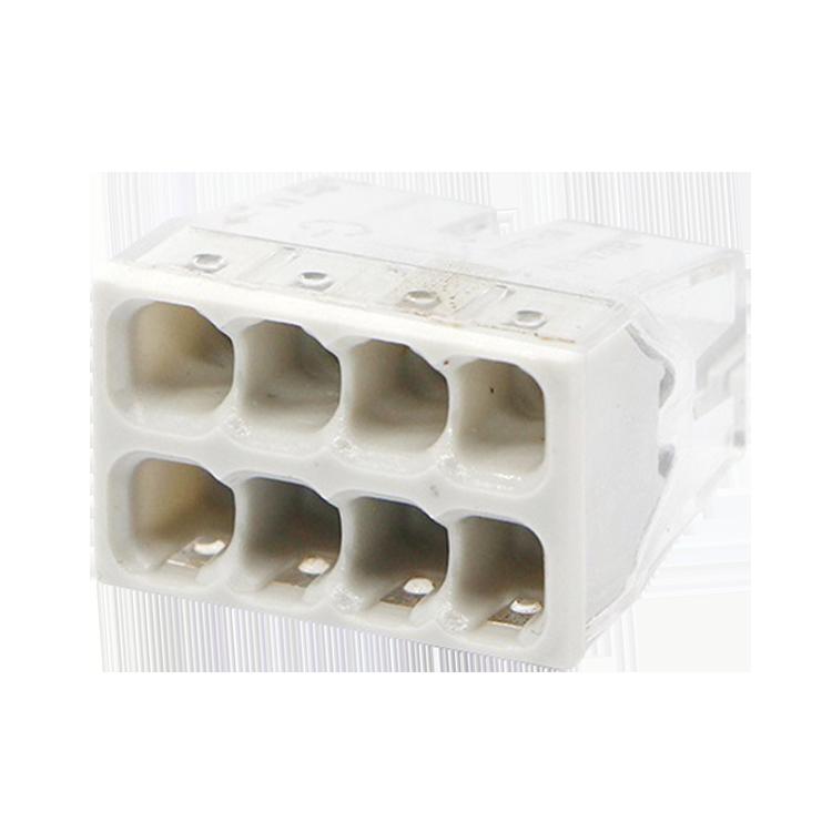 Строительно-монтажная клемма СМК 772-208 (4штук/упаковка) IN HOME, Соединительные изолирующие зажимы