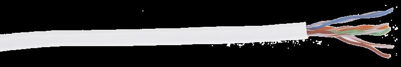 ITK Кабель связи витая пара ШПД U/UTP кат.5E 4 пары LSZH белый IEK, кабель витая пара