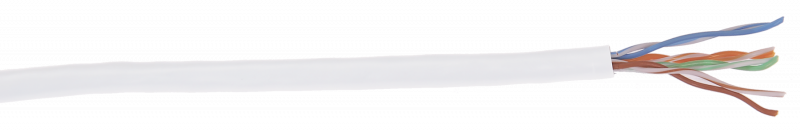 ITK Кабель витая пара ШПД U/UTP кат. 5E 4 пары LSZH белый IEK, кабель витая пара