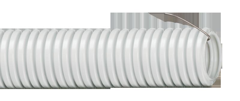 Труба IEK гофрированная ПВХ 32 с зондом, Труба гофрированная ПВХ