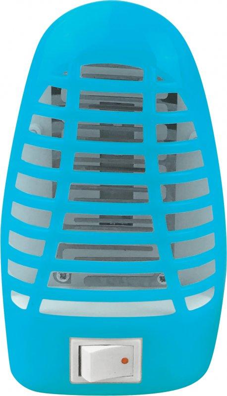 Ночник светодиодный москитный NLM 01-MB синий с выключателем 230В IN HOME, Ночники светодиодные