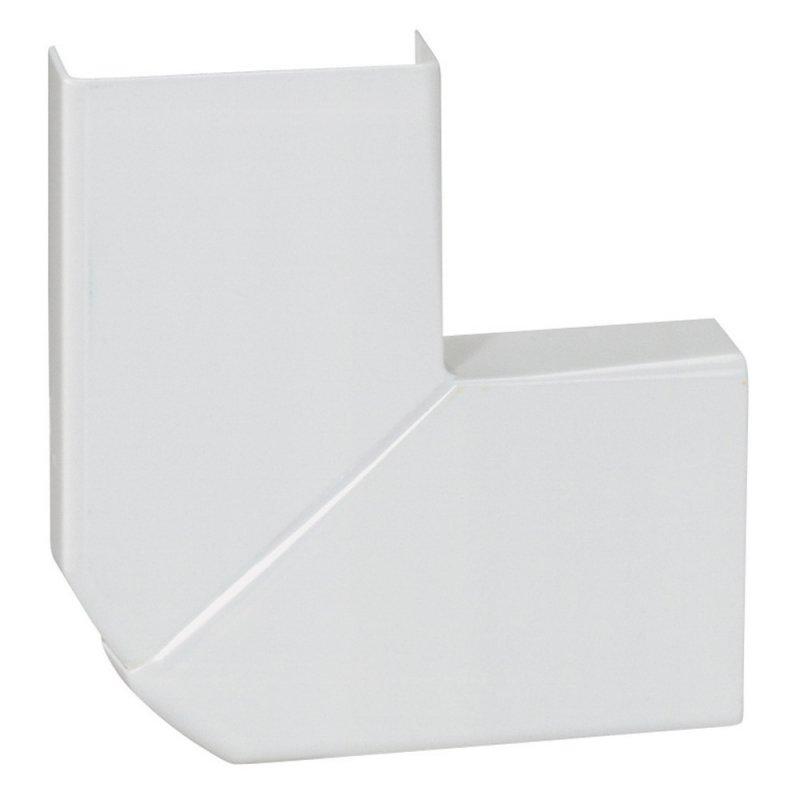 Угол плоский Legrand 32х12,5 для мини-плинтуса белый