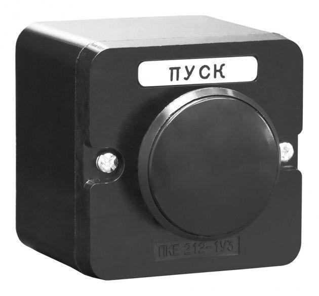ПКЕ 212-1 черный гриб, Светосигнальная арматура