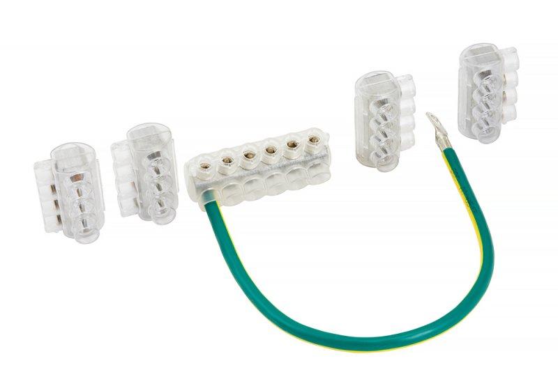 Комплект клеммников SV15 (Al 10-35 / Cu 1.5-25) для сетей уличного освещения EKF PROxima, Соединительные изолирующие зажимы