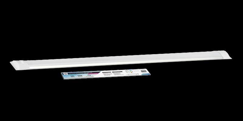Светильник светодиодный SPO-108Д-PRO 36Вт 230В 4000К 2700Лм 1200мм с датчиком движения IP40 LLT, Линейные светильники