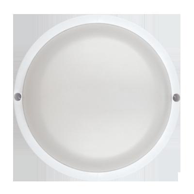 Светильник светодиодный герметичный СПП-А-КРУГ 8Вт 230В 6500К 640Лм с оптико-акустическим датчиком IP65 IN HOME, Светильники ЖКХ