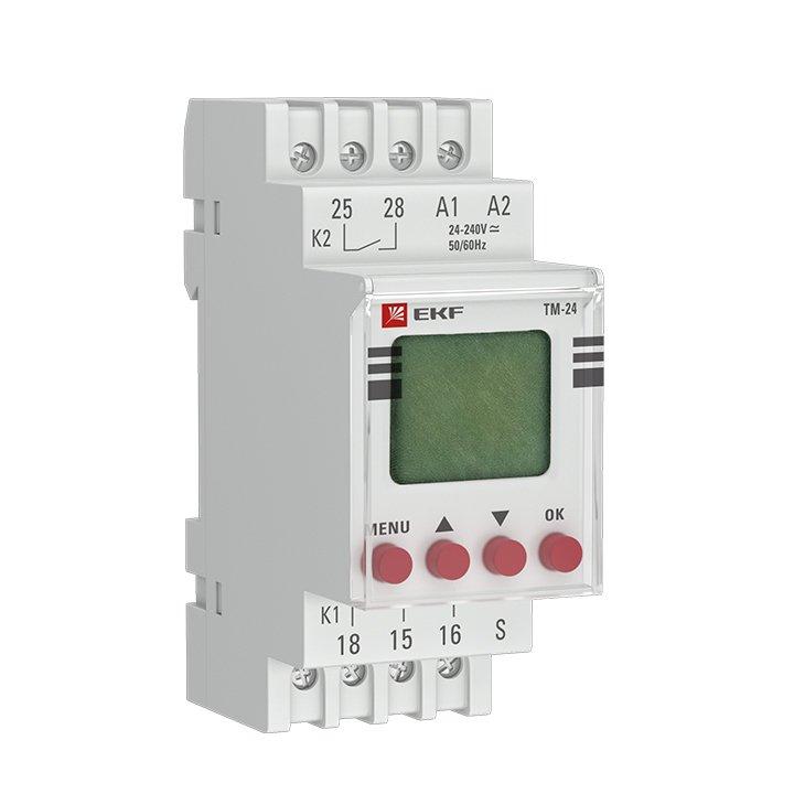 Таймер электронный многофункциональный ТМ-24 EKF PROxima, Дополнительные модульные устройства