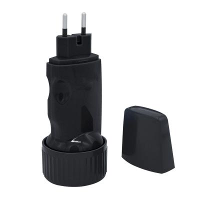 Фонарь ручной аккумуляторный MLA 01-B 5LED 120Lm 6ч 2 режима, з/у 230В ЧЕРНЫЙ  IN HOME, Фонари светодиодные