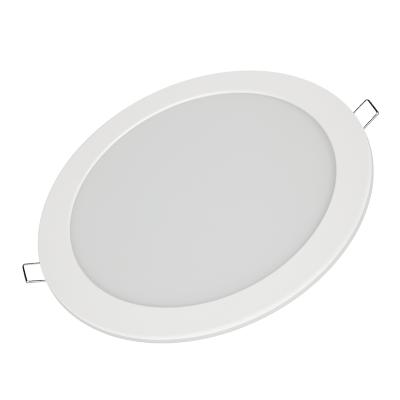 Панель светодиодная круглая RLP-VC 18Вт 230В 6500К 1440Лм 185мм белая IP40 IN HOME, Точечные светодиодные панели