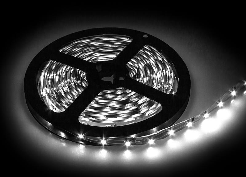 Лента светодиодная LS 50RGB-30/33 30LED 7.2Вт/м 12В IP33 мультиколор IN HOME, Светодиодная лента